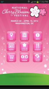 The Official National Cherry Blossom  Festival App