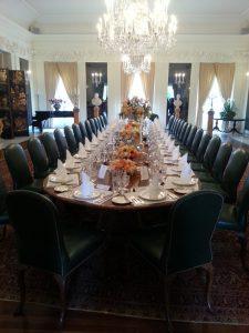 British Embassy Dining Room