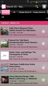 Events at the National Cherry Blossom Festival