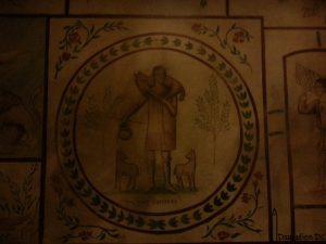 Franciscan Monastery DC Roman Graffiti Jesus